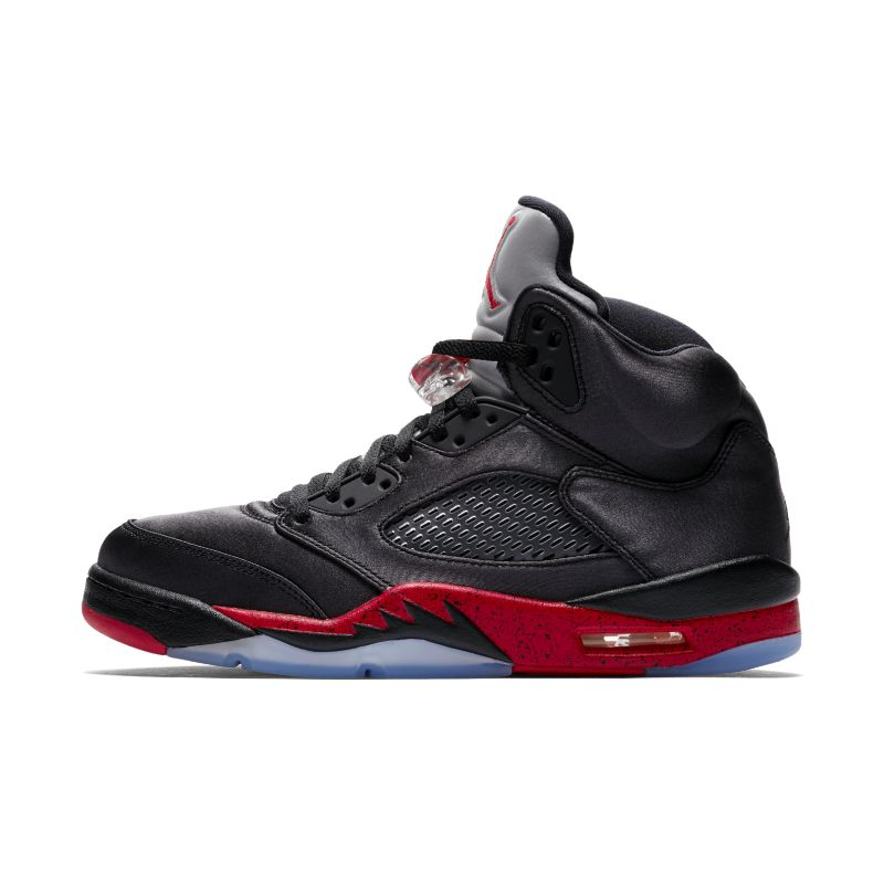 Air Jordan 5 Retro Men's Shoe - Black