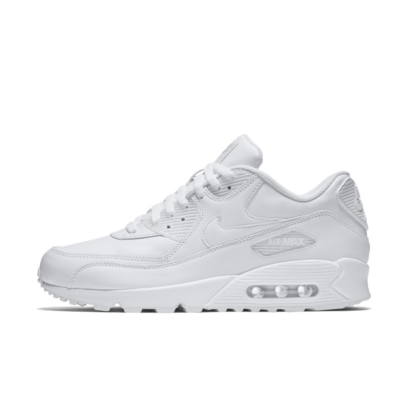 Nike Air Max 90 Leather Men's Shoe - White