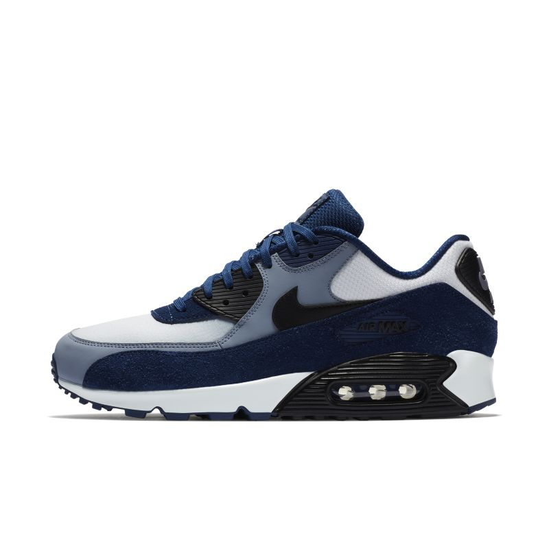 Nike Air Max 90 Leather Men's Shoe - Blue