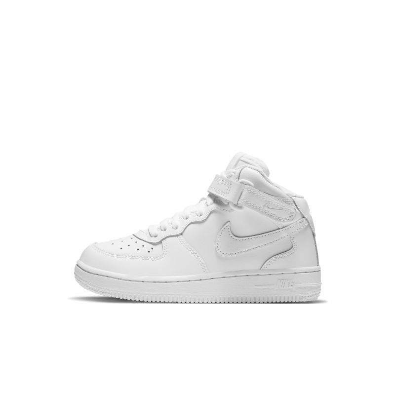 Nike Air Force 1 Mid Younger Kids' Shoe - White
