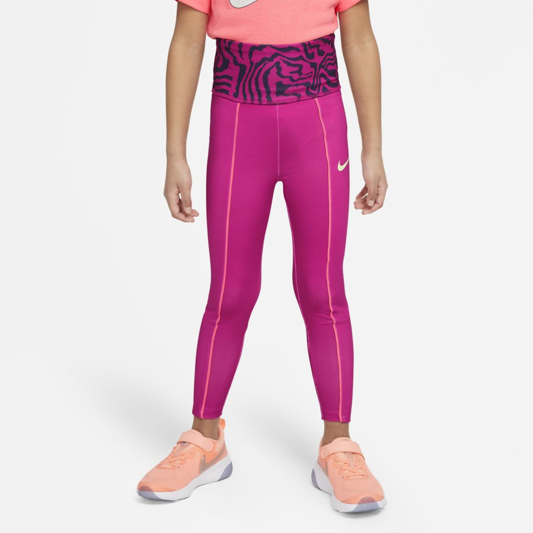 Nike DRI-FIT LITTLE KIDS' LEGGINGS (FIREBERRY)