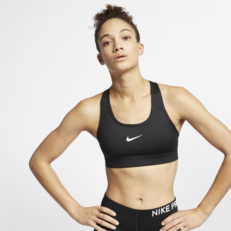 Nike Women's Light Support Sports Bra - Black