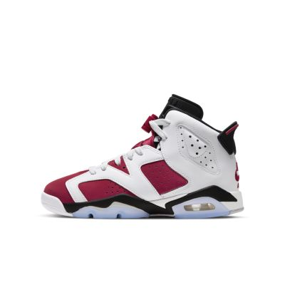Jordan Brand Air Jordan 6 Retro (GS) Red  - 384665-106