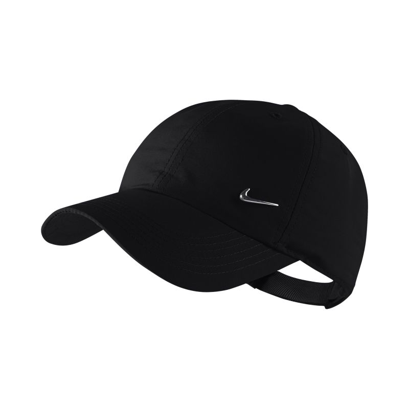 Nike Metal Swoosh Kids'Adjustable Hat - Black
