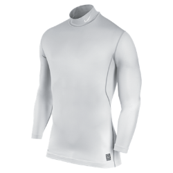 Nike Pro Combat Hyperwarm Fitted Knurling 1.2 Mock Men's Shirt