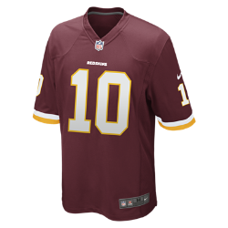 NFL Washington Redskins (Robert Griffin III) Men's American Football Home Game Jersey