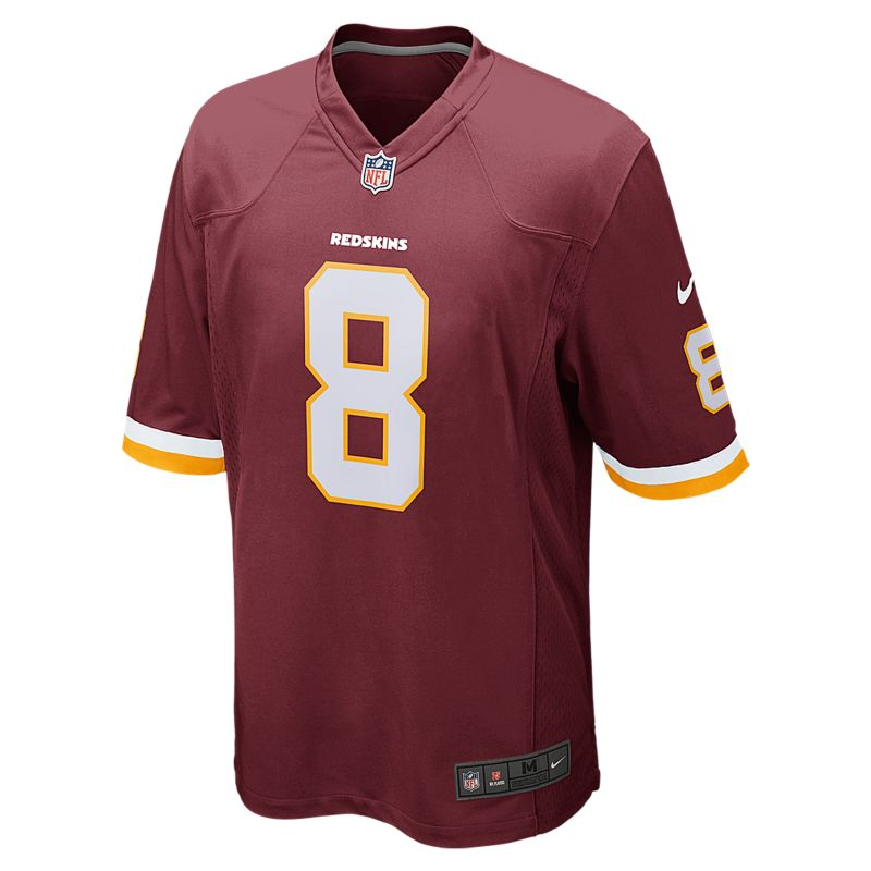 NFL Washington Redskins (Kirk Cousins) Men's American Football Home Game Jersey - Red
