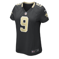 NFL New Orleans Saints (Drew Brees) Women's Football Home Game Jersey
