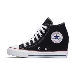 Converse Chuck Taylor All Star Lux Wedge Mid Women's Shoe ...