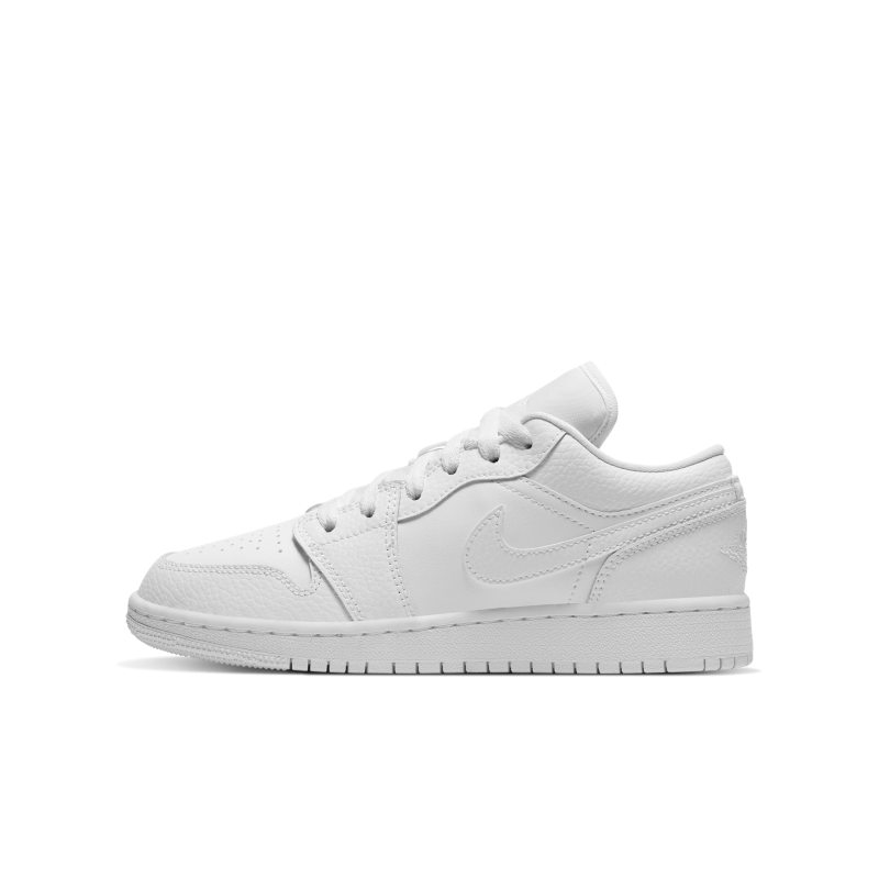 Air Jordan 1 Low Zapatillas - Niño/a - Blanco