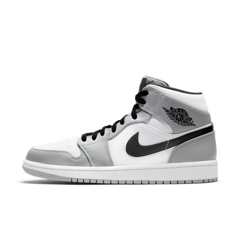Air Jordan 1 Mid Zapatillas - Gris