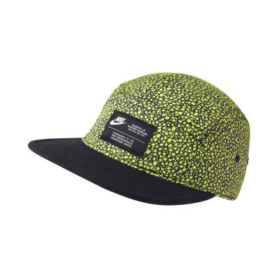 Nike AW84 Print Adjustable Hat Volt Ice on PopScreen 4710eb91bc7e