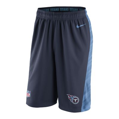 Nike Speed Fly XL 2.0 (NFL Tennessee Titans) Mens Training Shorts   College Nav
