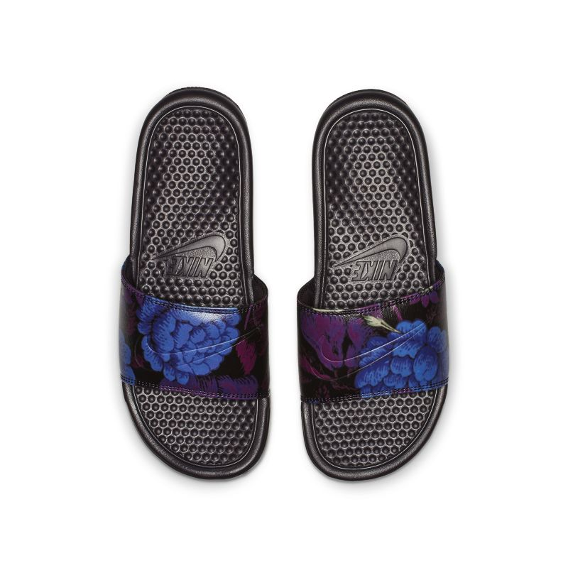 Image of Slider Nike Benassi JDI Floral - Donna - Red