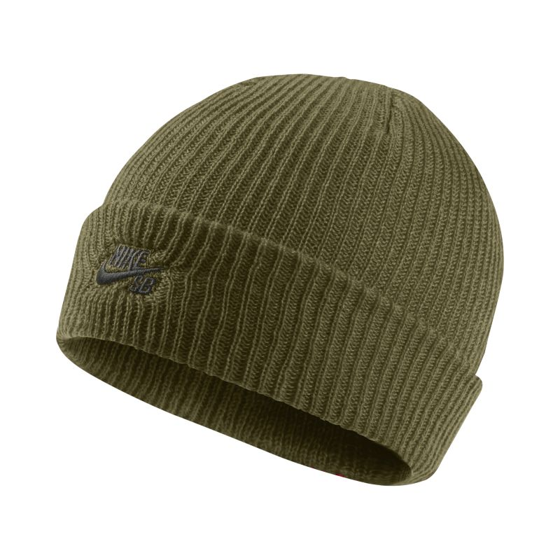 Nike SB Fisherman Knit Hat - Olive