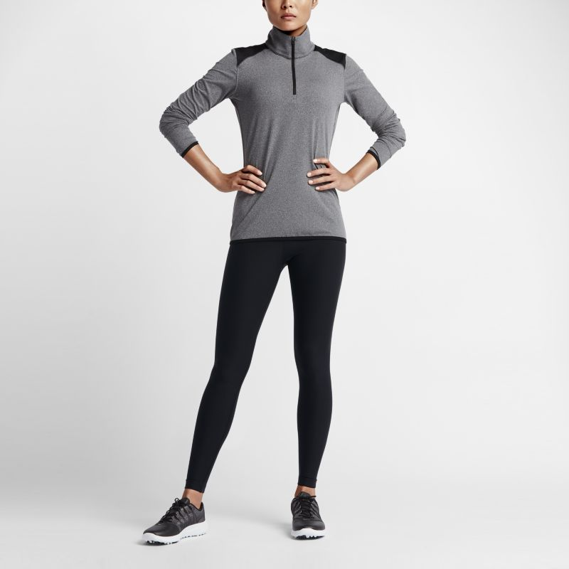 Nike Solid Women's Tights - Black