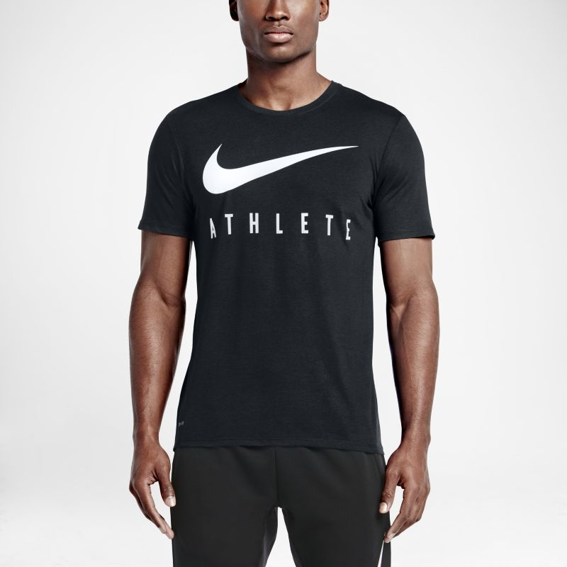 Nike Swoosh Athlete Men's T-Shirt - Black
