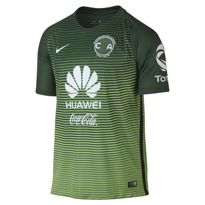 2016/17 Club America Stadium Third Men's Football Shirt - Green