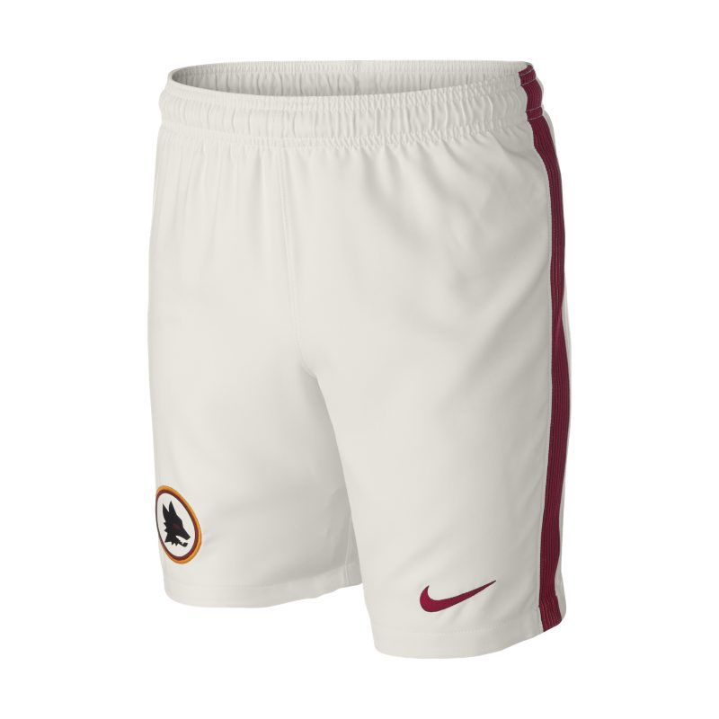2016/17 A.S. Roma Stadium Home/Away/Third Older Kids'Football Shorts (XS-XL) - Cream