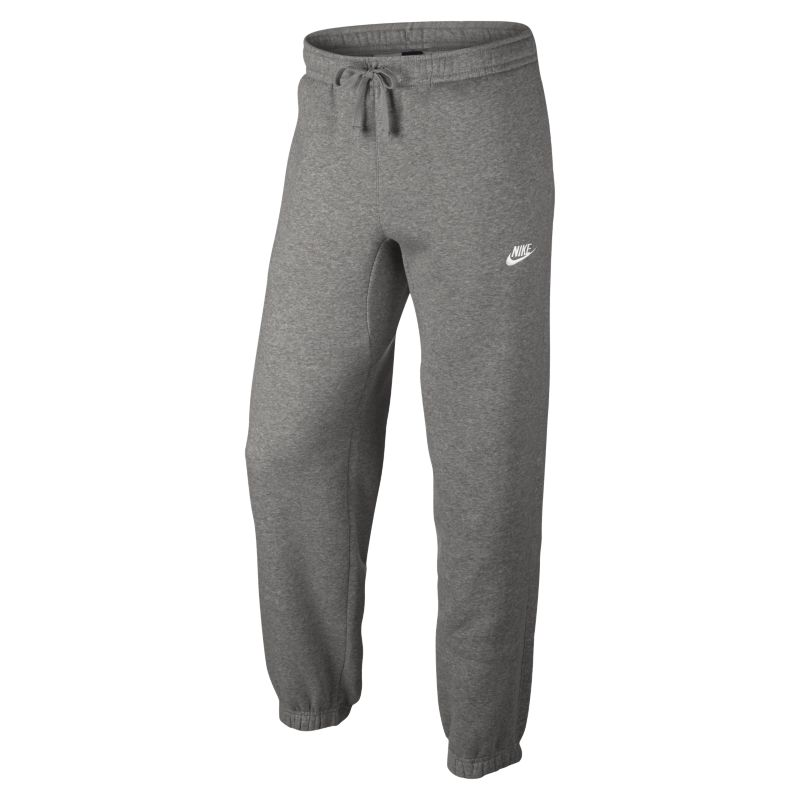 Nike Sportswear Men's Standard Fit Fleece Trousers - Grey