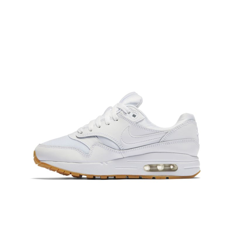 Nike Air Max 1 Older Kids' Shoe - White