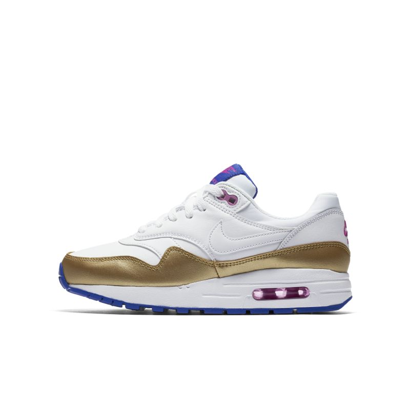 Nike Air Max 1 (3-6) Older Kids' Shoe - White