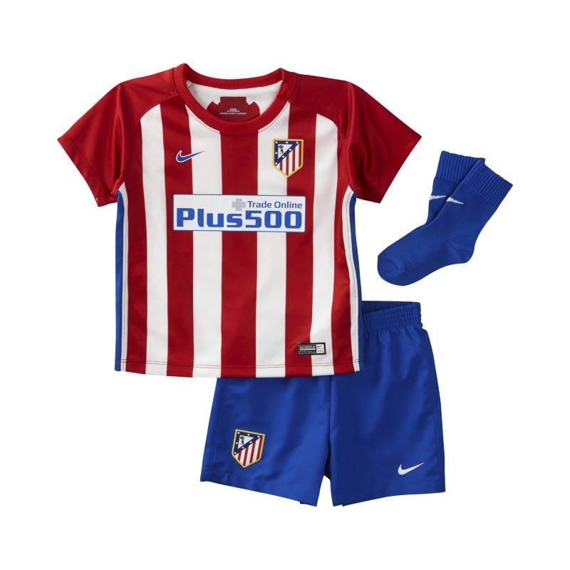 2016/17 Atletico de Madrid Stadium Home Baby&Toddler Football Kit - Red