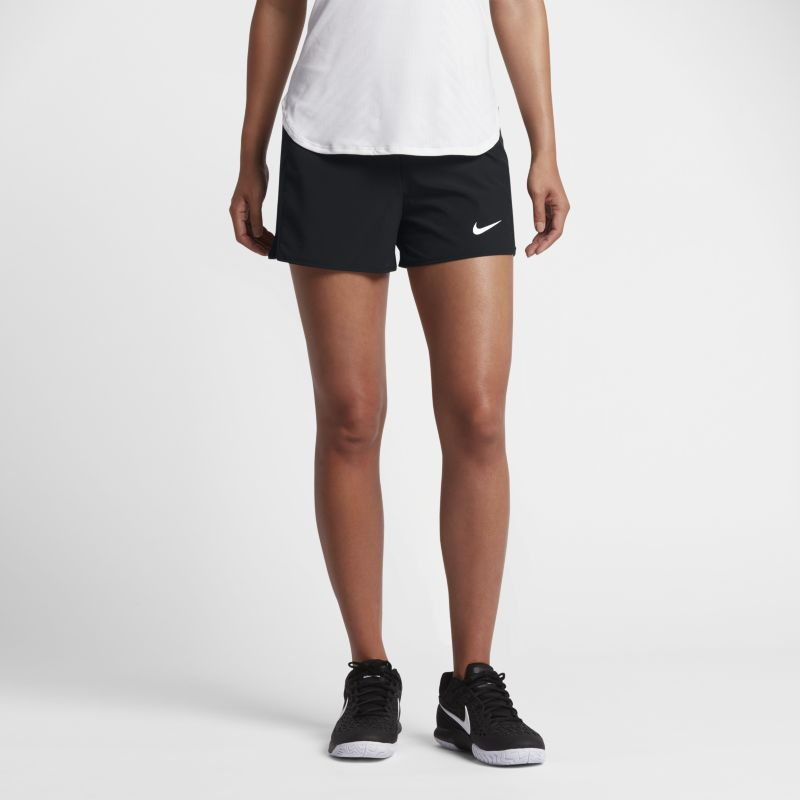 NikeCourt Flex Pure Women's Tennis Shorts - Black