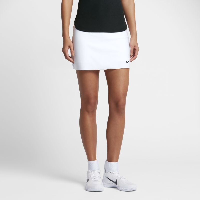 Image of NikeCourt Power Spin Women's Tennis Skirt White