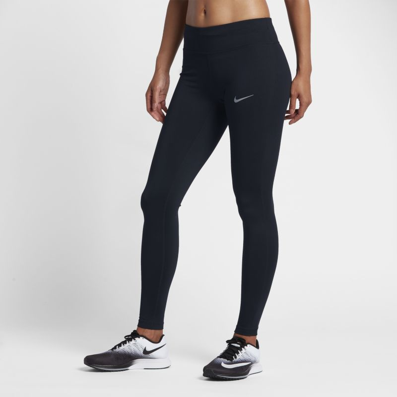 "Nike Essential Women's 28.5""(72.5cm approx.) Running Tights - Black"