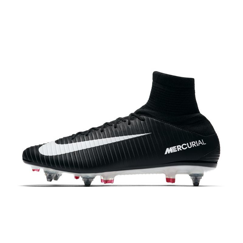 Nike Mercurial Veloce III Dynamic Fit SG-PRO Soft-Ground Football Boot - Black