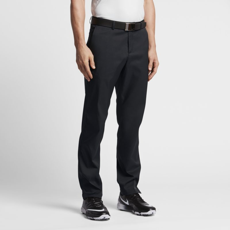 Nike Flat Front Men's Golf Trousers - Black