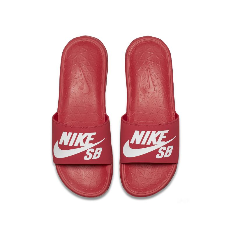 Nike SB Benassi Solarsoft Men's Slide - Red