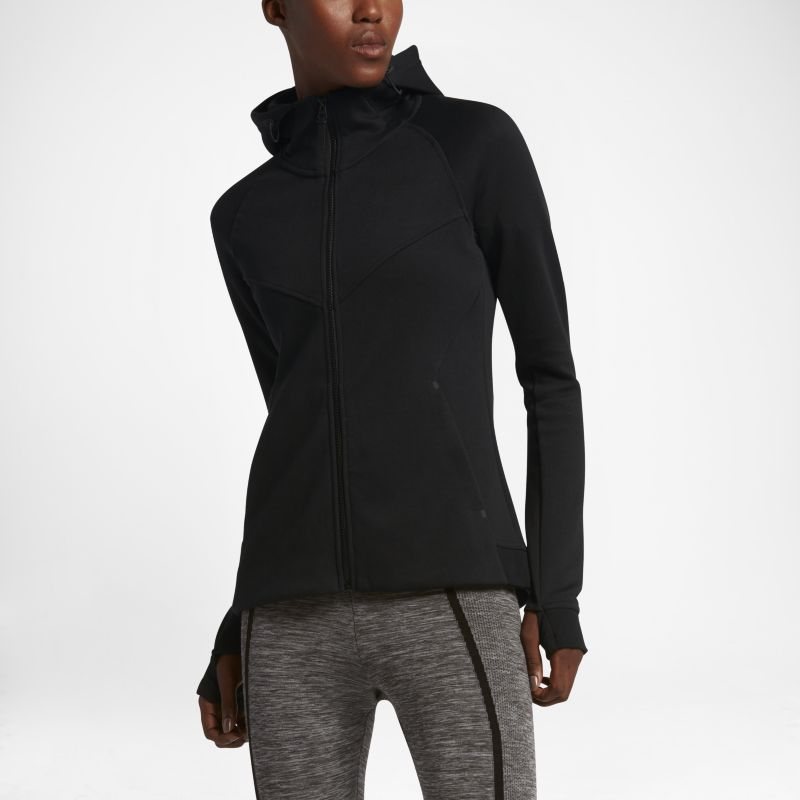Nike Sportswear Tech Fleece Windrunner Women's Full-Zip Hoodie - Black