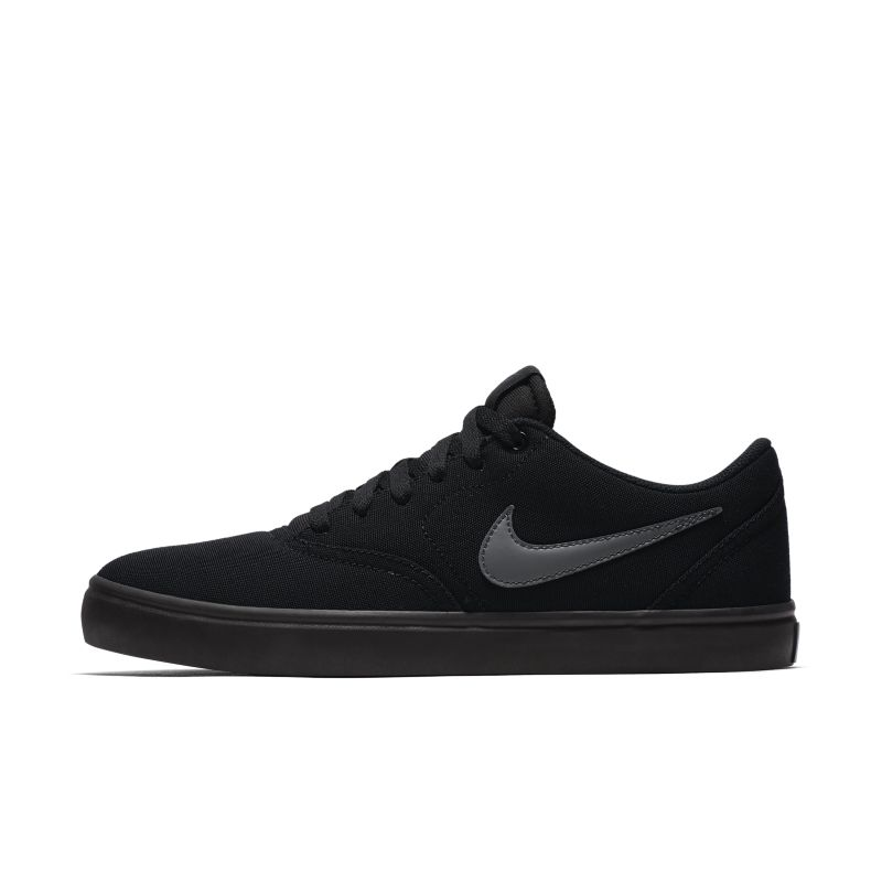 Image of Scarpa da skateboard Nike SB Check Solarsoft Canvas - Uomo - Nero