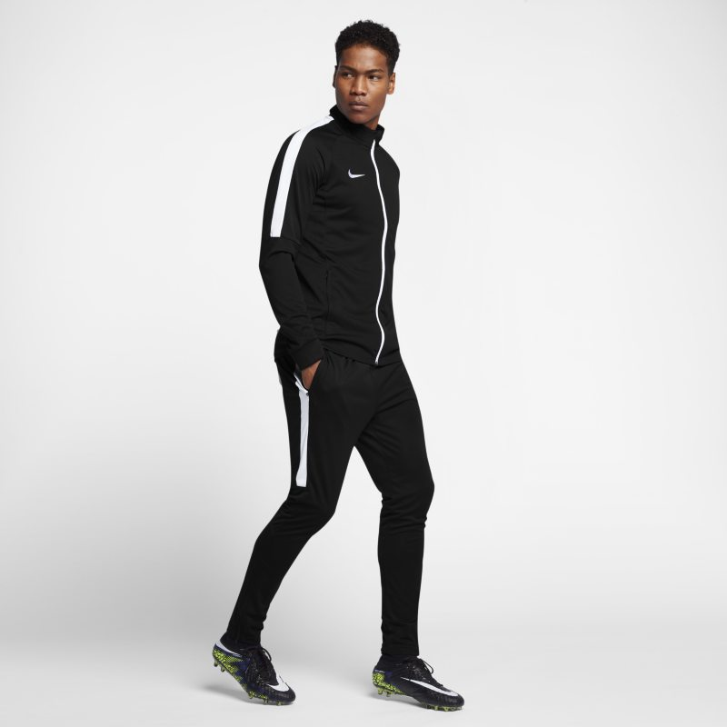 Nike Dri-FIT Men's Football Tracksuit - Black