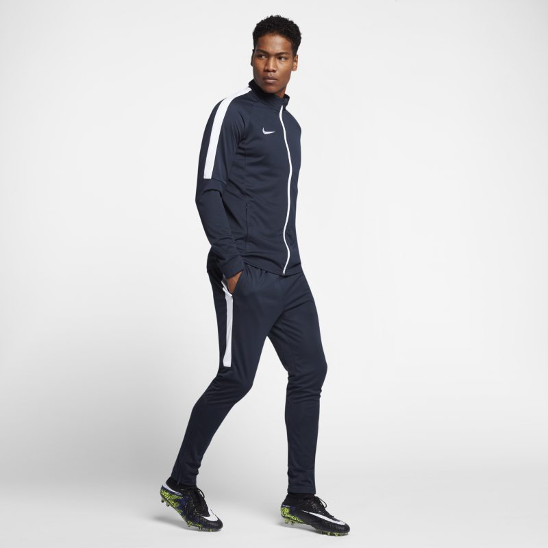 Nike Dri-FIT Men's Football Tracksuit - Blue