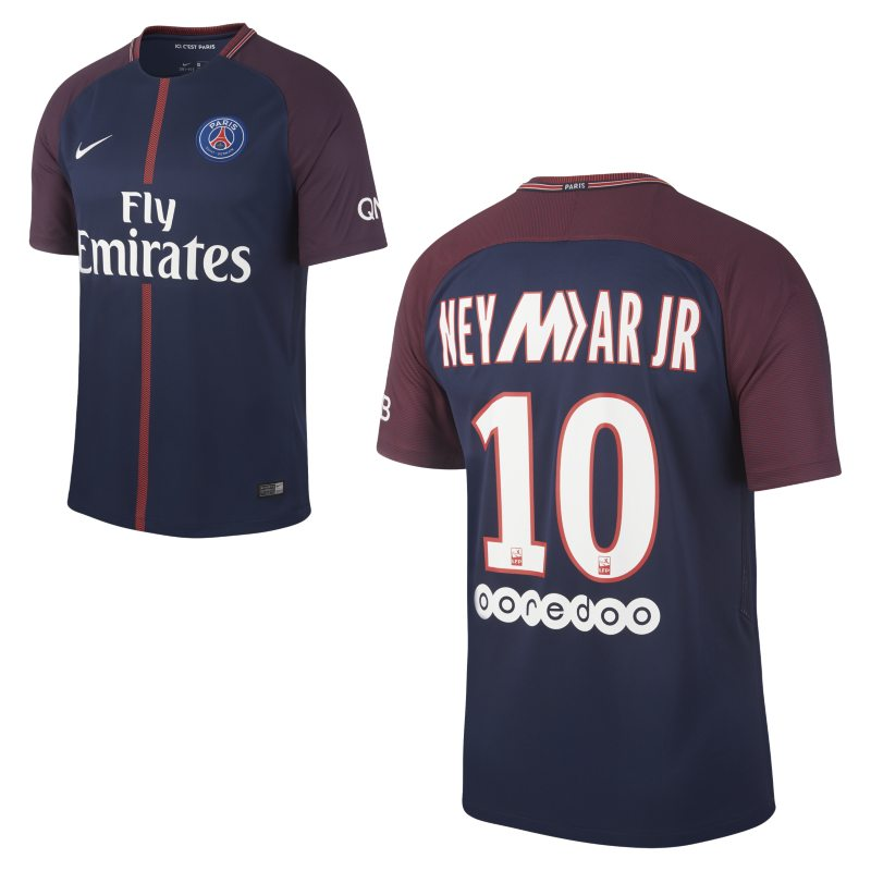 2017/18 Paris Saint-Germain Mercurial Stadium Home (Neymar Jr.) Men's Football Shirt - Blue