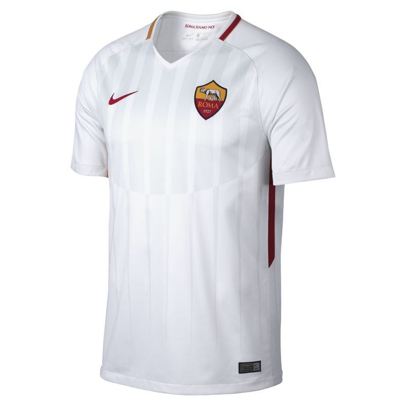 2017/18 A.S. Roma Stadium Away Men's Football Shirt - White
