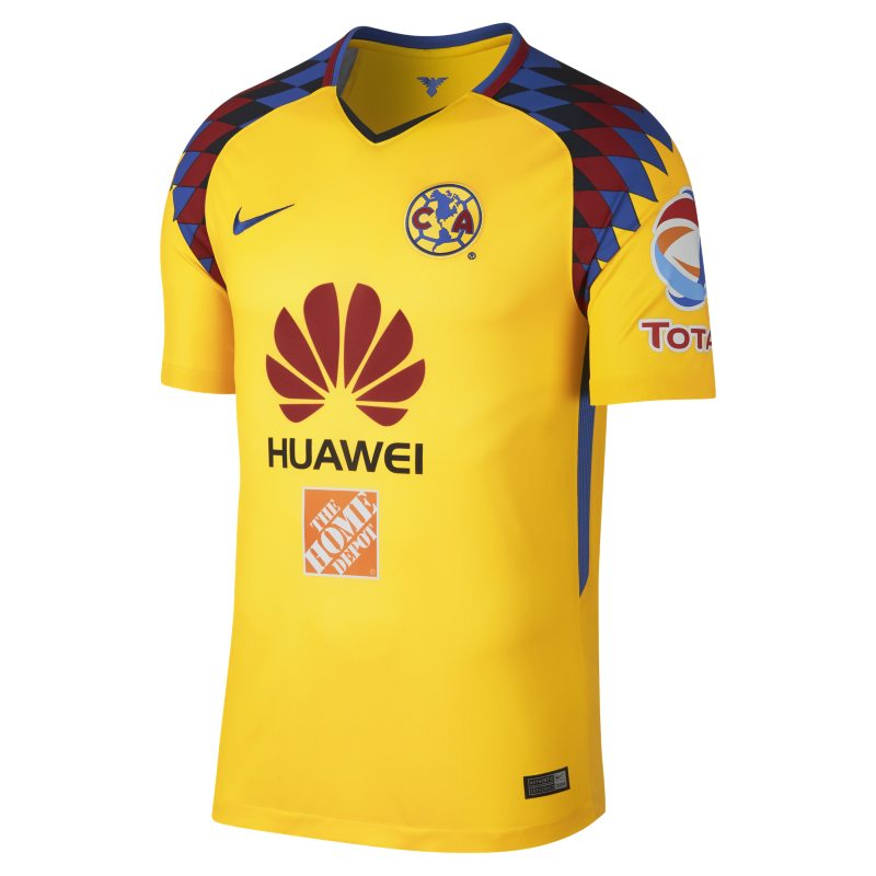 2017/18 Club America Stadium Third Men's Football Shirt - Yellow