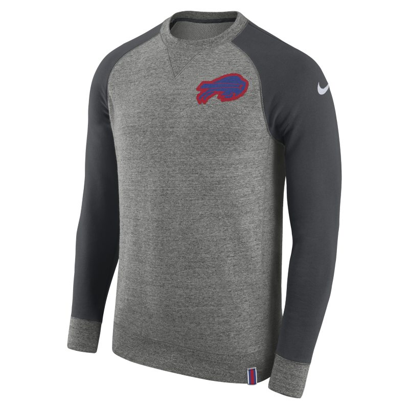 Nike AW77 (NFL Bills) Men's Crew - Grey