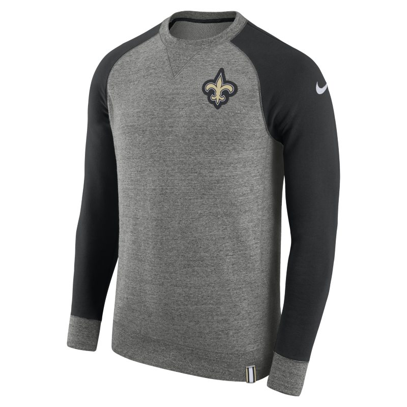 Nike AW77 (NFL Saints) Men's Crew - Grey