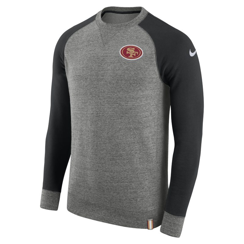 Nike AW77 (NFL 49ers) Men's Crew - Grey