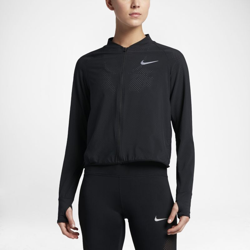 Nike Women's Running Jacket - Black