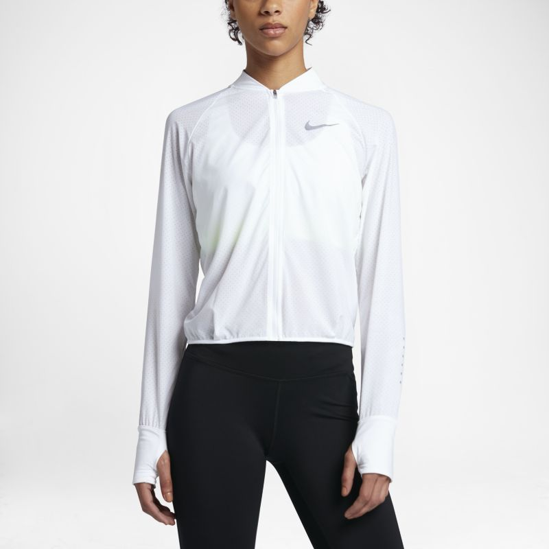 Nike Women's Running Jacket - White