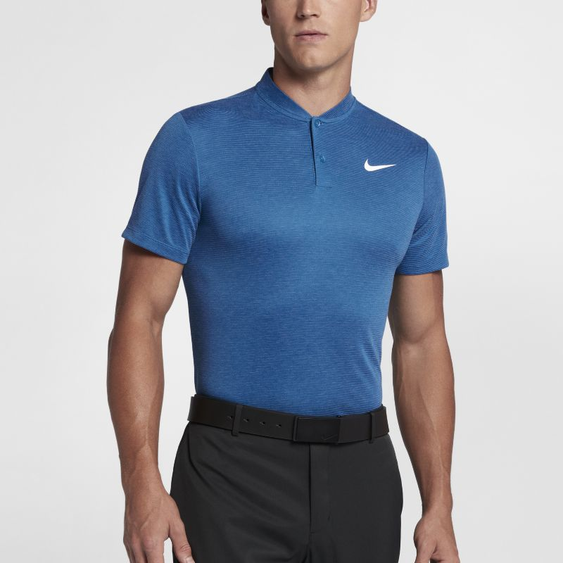 Nike Ultra 2 Men's Slim Fit Golf Polo - Blue