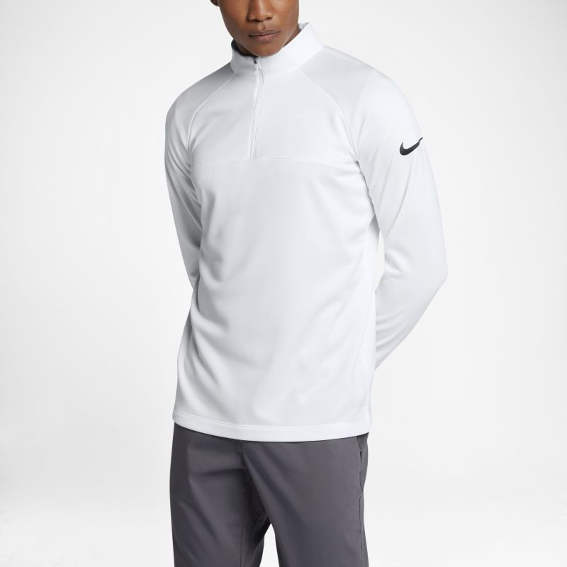 Nike Therma Core Men's Half-Zip Golf Top - White