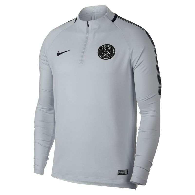 Paris Saint-Germain Dri-FIT Squad Drill Men's Football Top - Silver
