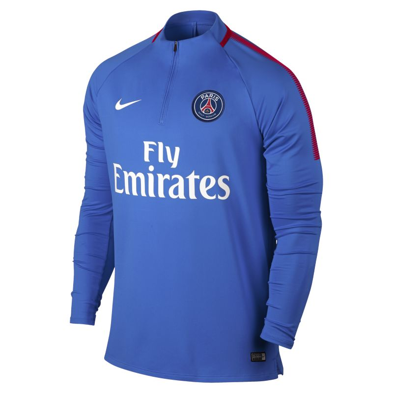 Paris Saint-Germain Dri-FIT Squad Drill Men's Football Top - Blue
