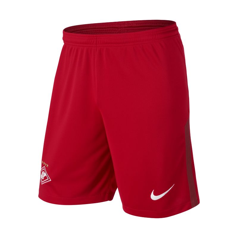 2017/18 Spartak Moscow Stadium Home/Away Men's Football Shorts - Red